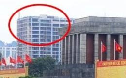 Tòa nhà cao vọt gần Lăng: Xây trên 50m phải hỏi Bộ Quốc phòng