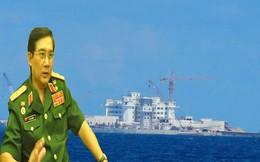 """Tướng Lương: """"Xây dựng đảo nhân tạo là sai lầm chiến lược của TQ"""""""