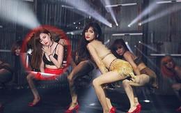 Sỹ Thanh mặc táo bạo, nhảy bốc lửa trong MV mới