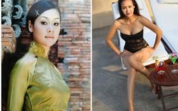 Vẻ đẹp quên tuổi của Hoa hậu có đôi chân dài 1m15