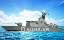[INFOGRAPHIC] Sức mạnh tàu hộ vệ tên lửa độc nhất của Việt Nam