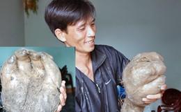 """Kỳ lạ củ khoai vạc rồng có hình giống """"bàn tay"""" ở Nghệ An"""