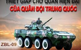 """[INFOGRAPHIC] Xe thiết giáp chở quân có biệt danh """"Báo tuyết"""""""