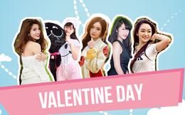 """INFOGRAPHIC: """"Vũ khí"""" để chinh phục hot girl trong ngày Valentine"""