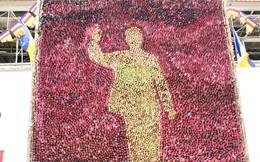Chiêm ngưỡng bức tranh Chủ tịch Hồ Chí Minh lớn nhất thế giới