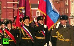 Toàn cảnh lễ duyệt binh kỉ niệm Cách mạng tháng 10 Nga