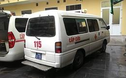Bệnh nhân thập tử nhất sinh, xe cứu thương chết máy
