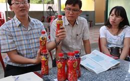 Tân Hiệp Phát niêm phong 6 chai trà Dr Thanh bất thường
