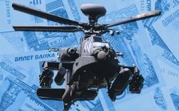 INFOGRAPHIC: So sánh đơn giá trực thăng vũ trang hiện đại