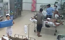Camera ghi cảnh xông vào bệnh viện đâm đối thủ đang cấp cứu