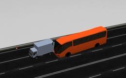 Video 3D mô phỏng vụ tai nạn trên cao tốc Pháp Vân - Cầu Giẽ