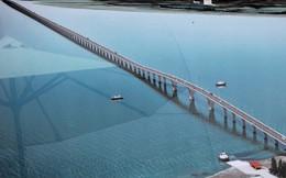 Cầu vượt biển dài nhất Việt Nam gặp khó