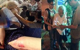 Hà Nội: Cụ bà 92 tuổi ngồi khóc giữa đường lúc đêm khuya