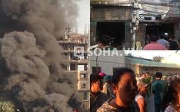 Hà Nội: Thẫn thờ nhìn khói bốc kinh hoàng từ dãy nhà cấp 4