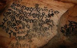 Nghiên cứu văn bia 1.000 năm tuổi trong động Phong Nha