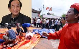 Tục chém lợn đẫm máu ở Bắc Ninh: GS Nguyễn Lân Dũng nói gì?