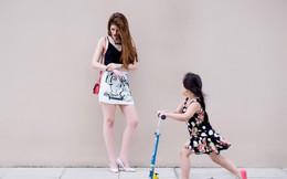 """Andrea sành điệu với thời trang """"đường phố"""""""