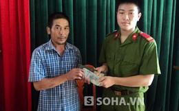 Hạ sĩ công an nhặt chiếc ví đầy tiền bên trong