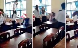 Đã có hình thức kỷ luật nhóm học sinh ném ghế dã man vào mặt bạn
