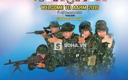 Đội tuyển VN mang đến giải đấu AARM 2015 những loại súng nào?