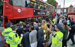 Giao thông London rối loạn do đình công