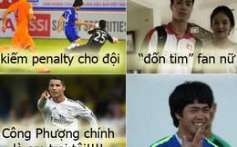 Ảnh chế: Lộ lí do Ronaldo nhận Công Phượng làm em trai