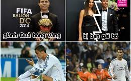 """Quả bóng vàng đã """"hại đời"""" Ronaldo thế nào?"""