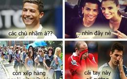 Ronaldo sung sướng thế nào sau khi chia tay bạn gái?