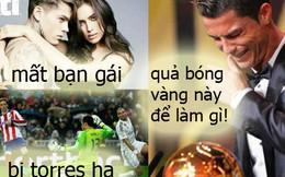 """Mất bạn gái, bị Torres """"hành"""", Cris Ronaldo suy sụp"""