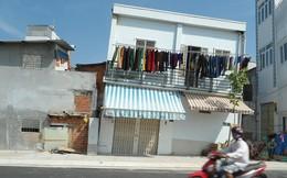 Sống nơm nớp trong dãy nhà chờ…sập ở Sài Gòn