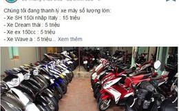 Thực hư tin Cục hải quan bán đấu giá xe máy Lx 7 triệu đồng