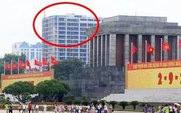 Nguyên Thứ trưởng Bộ XD: 'Không nên có tòa nhà cao tầng gần Lăng'