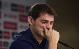 Casillas đẫm nước mắt nhắn nhủ người hâm mộ Real