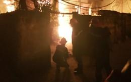 Hải Phòng: Lại xảy ra cháy lớn giữa đêm, 1 người thiệt mạng