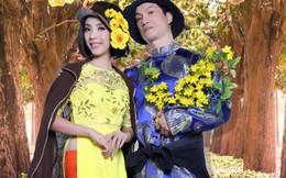 Bộ ảnh hài hước mừng năm mới của Dustin Nguyễn, Thu Trang