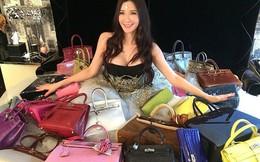 Choáng với cô gái siêu giàu sở hữu nhiều túi Hermes hơn cả Victoria Beckham