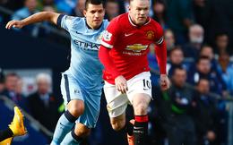 Van Gaal thách Rooney bằng được Aguero