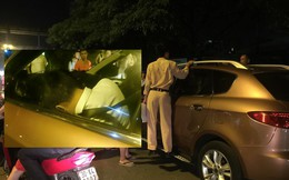 Cảnh sát phá kính ô tô, cứu tài xế gục trên vô lăng