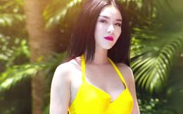 Cảnh khoe da thịt của hot girl Linh Miu trong tập 1 phim 18+