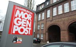 Đăng tranh biếm củaCharlie Hebdo, báo Đức bị tấn công