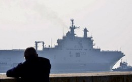 Không chịu nổi phí, Pháp tính chuyển nơi lưu đậu tàu Mistral của Nga