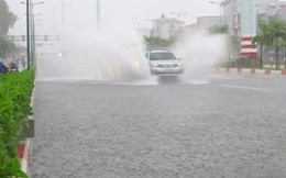 Chiều nay, phố Sài Gòn lại ngập như sông!