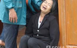 Vụ sập giàn giáo: Mẹ lịm đi khi nhìn thi thể con lạnh ngắt
