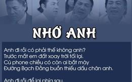 """Xúc động bài thơ """"nhập vai"""" vợ ông Nguyễn Bá Thanh khóc chồng"""