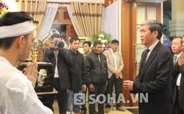 Ông Đinh Thế Huynh, Đinh La Thăng tiễn biệt ông Nguyễn Bá Thanh