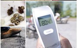 """Những hình ảnh """"không thể tin nổi"""" về đợt nắng nóng kỷ lục ở VN"""