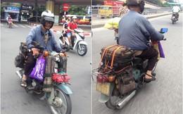 """Cụ ông 85 tuổi và chiếc """"siêu xe"""" chinh phục Hà Nội"""