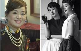 Dung nhan xinh đẹp, quý phái của mẹ và chị gái Mi Vân