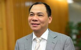"""Vợ chồng đại gia Phạm Nhật Vượng nhận """"thưởng"""" 5.530 tỷ đồng"""