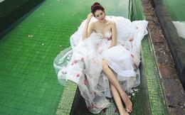Phan Hà Phương hút hồn khi làm cô dâu